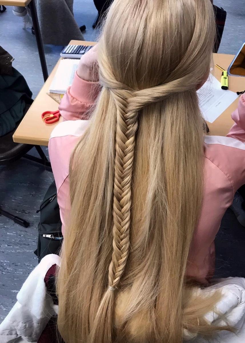Kannst du ein Bild von deinen haaren posten